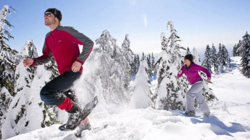 events, Vancouver, Grouse Mountain, snowshoeing, races