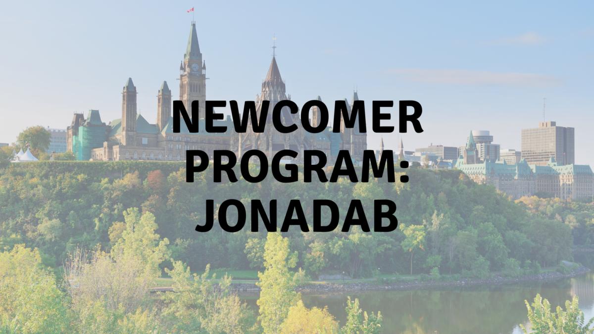 Newcomer Program Jonadab